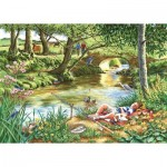 Puzzle  The-House-of-Puzzles-2742 Pièces XXL - Gone Fishing