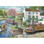 Puzzle  The-House-of-Puzzles-3176 Trouvez les 15 Différences No.6 - By The Canal