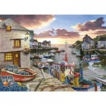 Puzzle  The-House-of-Puzzles-3428 Pièces XXL - Harbour Lights