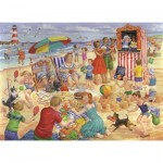 Puzzle  The-House-of-Puzzles-3459 Pièces XXL - Trip To The Seaside