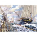Puzzle  The-House-of-Puzzles-3923 Pièces XXL - Steady As She Goes