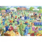 Puzzle  The-House-of-Puzzles-3930 Pièces XXL - Summer Fete