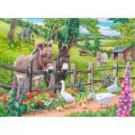 Puzzle  The-House-of-Puzzles-4128 Pièces XXL - Jack & Jenny