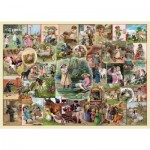 Puzzle  The-House-of-Puzzles-4142 Pièces XXL - Playtime Pursuits