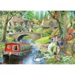 Puzzle  The-House-of-Puzzles-4159 Pièces XXL - Take it Easy