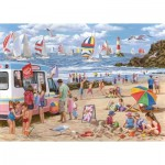Puzzle  The-House-of-Puzzles-4364 Pièces XXL - Regatta Day