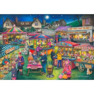 Puzzle The-House-of-Puzzles-4395 Trouvez les 15 Différences No.13 - Village Fayre