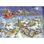 Puzzle  The-House-of-Puzzles-4494 Christmas Collectors Edition No.13 - Christmas Eve