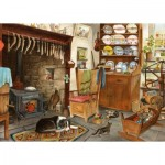 Puzzle  The-House-of-Puzzles-4517 Pièces XXL - Fisherman's Cottage