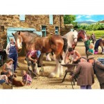 Puzzle  The-House-of-Puzzles-4579 Pièces XXL - Time For New Shoes