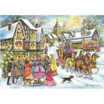 Puzzle  The-House-of-Puzzles-4593 Trouvez les 15 Differences No.15 - Coach & Carols