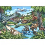 Puzzle  The-House-of-Puzzles-4722 Pièces XXL - Dinosaures