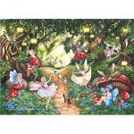 Puzzle  The-House-of-Puzzles-4739 Pièces XXL - Faerie Dell