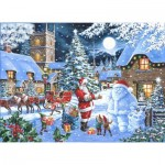 Puzzle  The-House-of-Puzzles-4852 Christmas Collectors Edition No.14 - Seeing Double