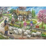 Puzzle   Daffodil Cottage