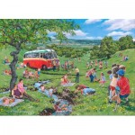 Puzzle   Pièces XXL - Darley Collection - Sunday Picnic