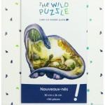 The-Wild-Puzzle-760029 Puzzle en Bois - Nouveaux-Nés