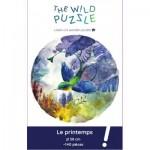 Puzzle en Bois - Le Printemps