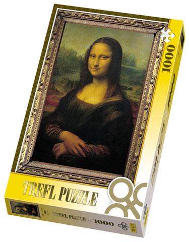 Puzzle Trefl-10002 Léonard de Vince : Mona Lisa, La Joconde