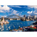 Puzzle  Trefl-10206 Australie, Sydney : Port Jackson