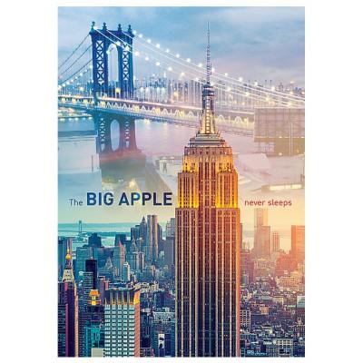 Puzzle Trefl-10393 New York à l'Aube