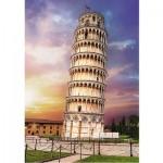 Puzzle  Trefl-10441 Tour de Pise, Italie
