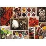 Puzzle  Trefl-10470 Collage - Epices