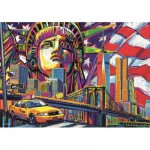 Puzzle  Trefl-10523 Colours of New York