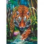 Puzzle  Trefl-10528 Tigre