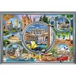 Puzzle  Trefl-10585 Vacances Italiennes