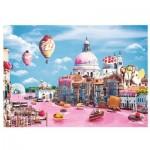 Puzzle  Trefl-10598 Bonbons à Venise