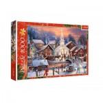 Puzzle  Trefl-10602 Noël Blanc