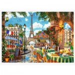 Puzzle  Trefl-10622 Matin Parisien
