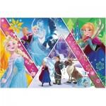 Puzzle  Trefl-13238 Pièces XXL - La Reine des Neiges