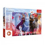 Puzzle  Trefl-13250 Pièces XXL - La Reine des Neiges II