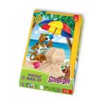 Puzzle  Trefl-14115 Maxi Pièces : Scooby-Doo à la plage