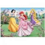 Puzzle  Trefl-14135 Les princesses Disney