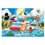 Puzzle  Trefl-14221 Pièces XXL - Mickey à la Pêche