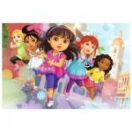 Puzzle  Trefl-14242 Pièces XXL - Dora