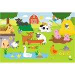 Puzzle  Trefl-14275 Pièces XXL - La Ferme