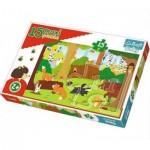 Puzzle  Trefl-14276 Pièces XXL - Animaux de la Forêt