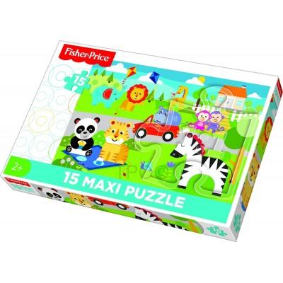Puzzle Trefl-14286 Pièces XXL - Mattel Fisher-Price