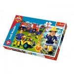 Puzzle  Trefl-14290 Pièces XXL - Sam le Pompier