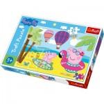 Puzzle  Trefl-14293 Pièces XXL - Peppa Pig