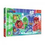 Puzzle  Trefl-14299 Pièces XXL - Pyjamasques