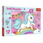 Puzzle  Trefl-14302 Pièces XXL - Licorne