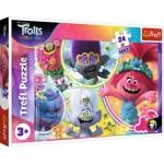 Puzzle  Trefl-14318 Pièces XXL - Dreamworks - Trolls World Tour