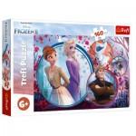 Puzzle  Trefl-15374 La Reine des Neiges II