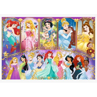 Puzzle Trefl-15407 Disney Princess