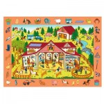 Trefl-15535 Puzzle Observation - Ferme
